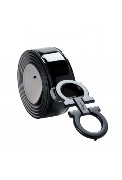 Salvatore Ferragamo 100% Leather Black Men's Belt : Picture 2