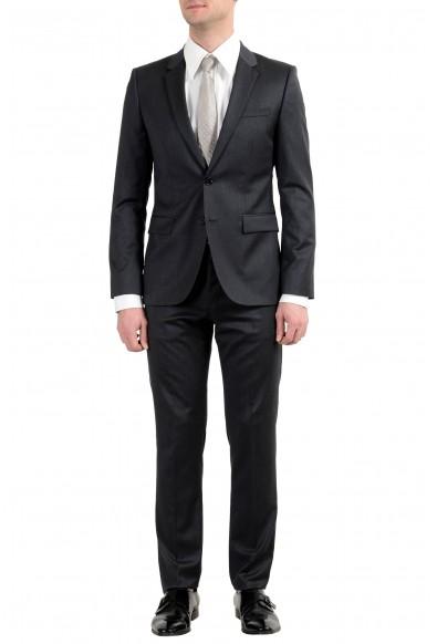 "Hugo Boss ""Aeron1/Hamen1"" Men's 100% Wool Gray Two Button Suit"