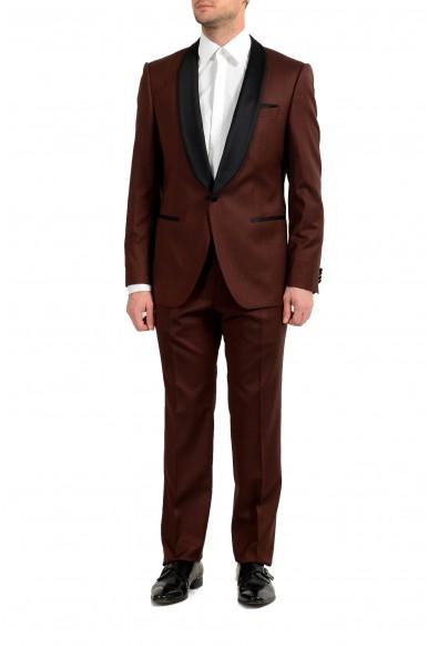 """Hugo Boss """"Henry1/Glow1"""" Men's 100% Wool Slim One Button Tuxedo Suit"""