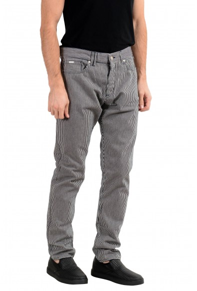 """Hugo Boss """"Atlantic1"""" Men's Striped Relaxed Fit Casual Pants : Picture 2"""