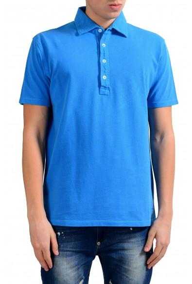 Malo Men's Royal Blue Short Sleeve Polo Shirt