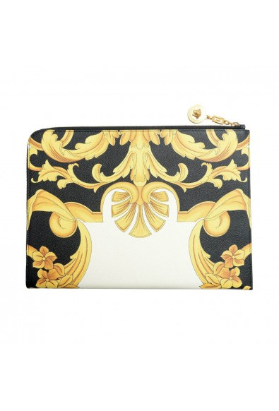 Versace 100% Leather Multi-Color Women's Clutch Bag