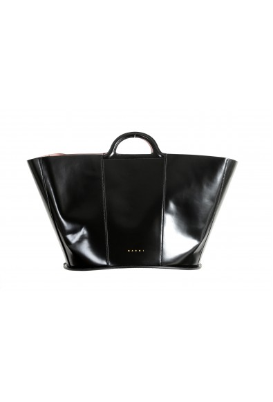 Marni Women's Black 100% Leather Bucket Handbag Bag