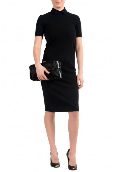 Proenza Schouler Women's Black Satin Clutch Bag