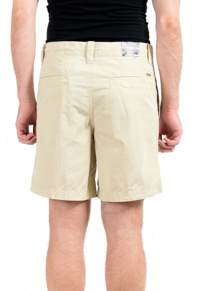 """Hugo Boss """"Selian-Shorts"""" Men's Beige Relaxed Fit Casual Shorts: Picture 2"""