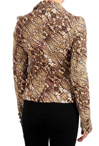 Just Cavalli Multi-Color One Button Women's Blazer: Picture 2