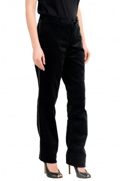 Dolce & Gabbana D&G Women's Black Corduroy Flat Front Pants : Picture 2