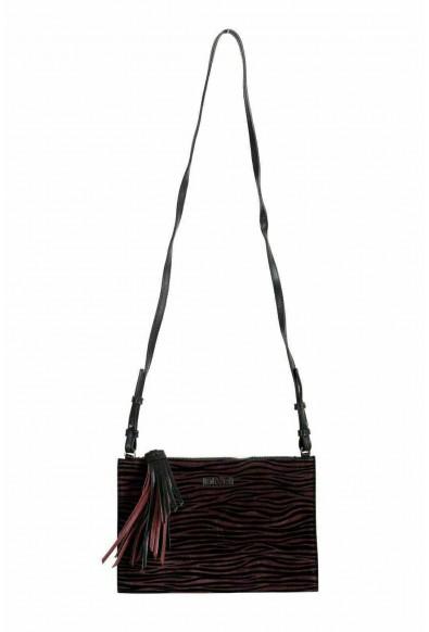 Just Cavalli 100% Leather Multi-Color Women's Crossbody Shoulder Bag