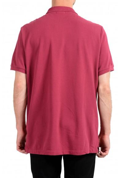 Burberry Brit Men's Raspberry Short Sleeve Polo Shirt : Picture 2