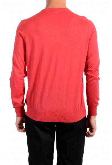 Kiton Napoli Men's Red Crewneck Silk Cashmere Pullover Sweater : Picture 2