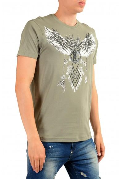 Roberto Cavalli Men's Gray Graphic Print T-Shirt : Picture 2