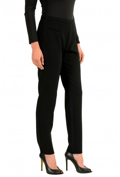 Versace Collection Black Women's Casual Pants: Picture 2