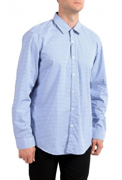 "Hugo Boss Men's ""Maik"" Regular Fit Plaid Long Sleeve Casual Shirt"