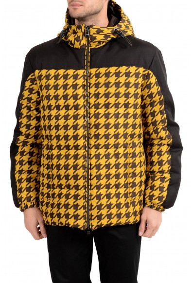 "Hugo Boss Men's ""Dison"" Multi-Color Down Hooded Parka Jacket"