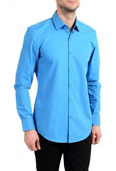 "Hugo Boss ""C-Jenno"" Men's Blue Slim Long Sleeve Dress Shirt"