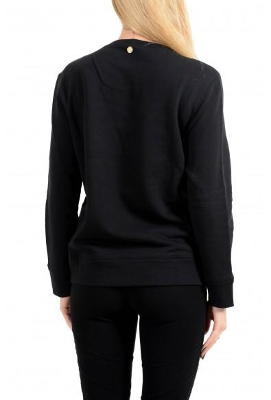 Versace Collection Women's Black Embellished Sweatshirt: Picture 2