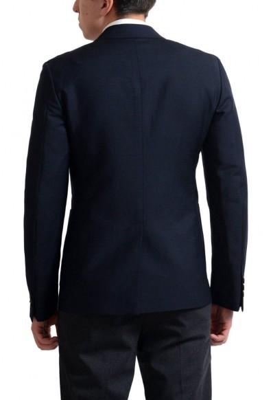 Prada Men's Navy Mohair Wool Two Button Sport Coat Blazer: Picture 2
