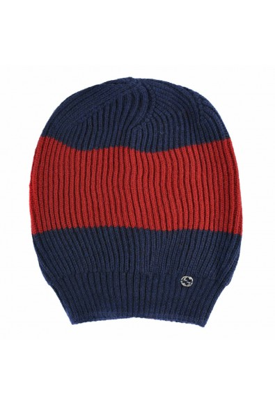 Gucci Unisex Multi-Color 100% Wool Beanie Hat