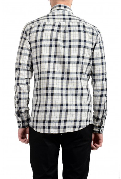 """Hugo Boss """"Mabsoot"""" Men's Slim Plaid Long Sleeve Casual Shirt: Picture 2"""