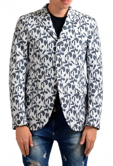 Jil Sander Men's Multi-Color Three Button Blazer Sport Coat