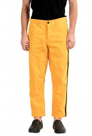 """Hugo Boss """"Salt 2"""" Men's Yellow Tapered Fit Casual Pants"""