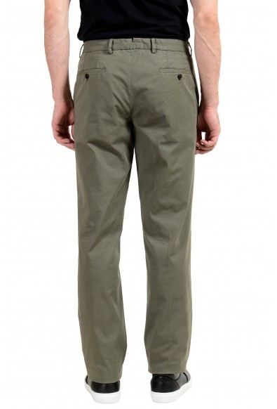 Burberry Men's Olive Green Casual Pants: Picture 2