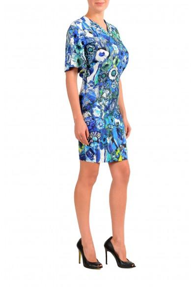 Just Cavalli Women's Multi-Color V-Neck Bodycon Dress: Picture 2