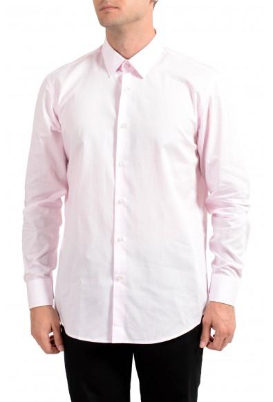 "Hugo Boss Men's ""Enzo"" Regular Fit Plaid Long Sleeve Dress Shirt"