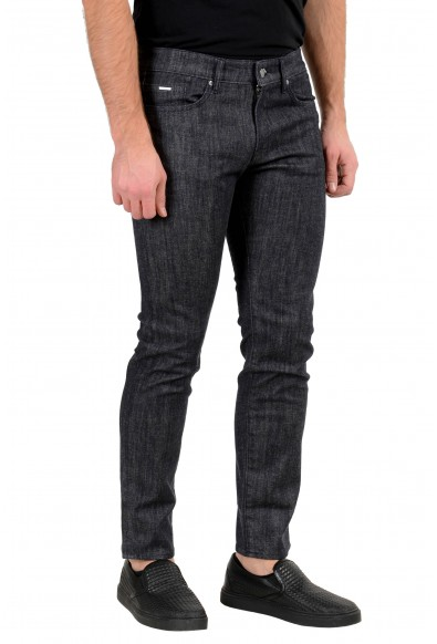 "Hugo Boss Men's ""Delaware3-1"" Slim Fit Off Black Wash Stretch Jeans: Picture 2"