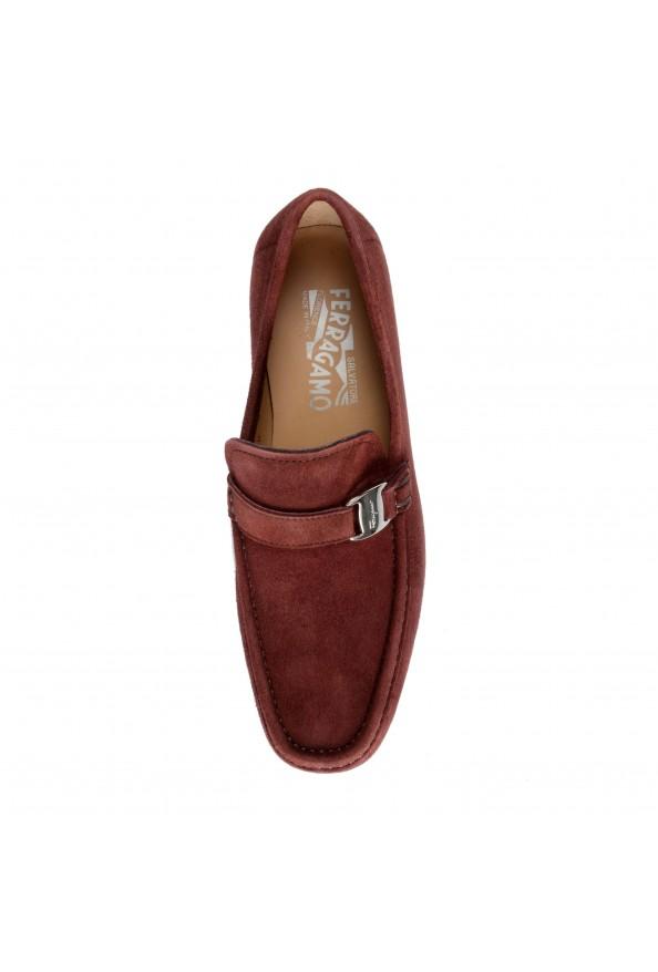 "Salvatore Ferragamo Men's ""GEROLAMO 5"" Brown Suede Leather Loafers Shoes: Picture 7"