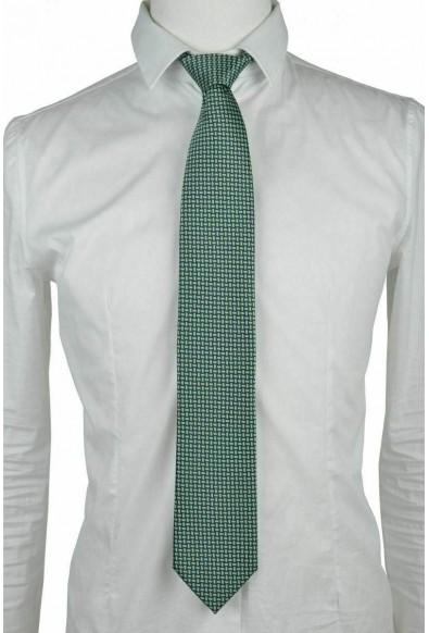 Brioni Men's Multi-Color 100% Silk Geometric Print Neck Tie: Picture 2