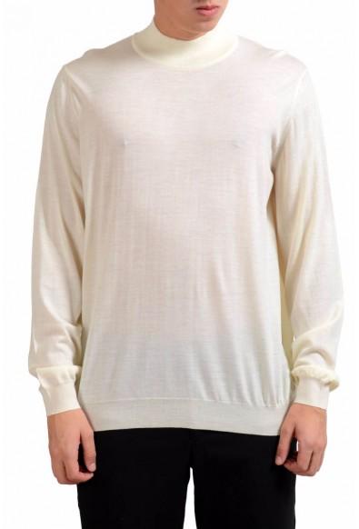 Malo 100% Wool Men's Turtleneck Light Pullover Sweater