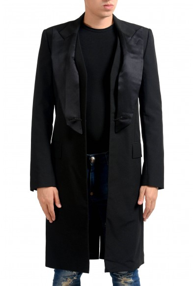 Maison Margiela 10 Men's 100% Wool Blazer Tuxedo Tailcoat