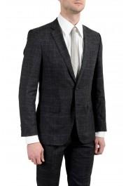"""Hugo Boss """"Huge6/Genius5"""" Men's Linen Silk Wool Slim Fit Gray Two Button Suit: Picture 7"""