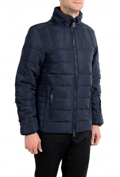 Roberto Cavalli Men's Down Navy Blue Full Zip Parka Jacket: Picture 2