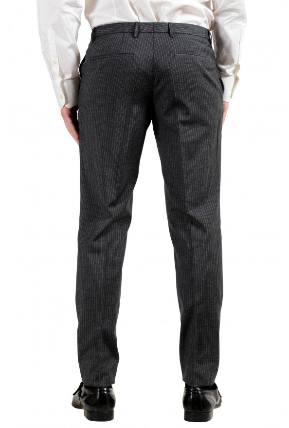 """Hugo Boss """"Reymond/Wented"""" Men's Silk Wool Striped Gray Slim Two Button Suit: Picture 7"""