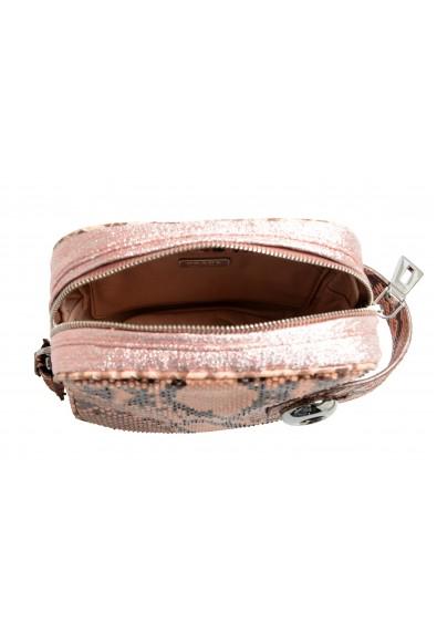 Prada Women's Pink Python Skin Leather Bag Clutch: Picture 2