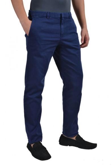 Prada Men's Dark Blue Casual Pants : Picture 2