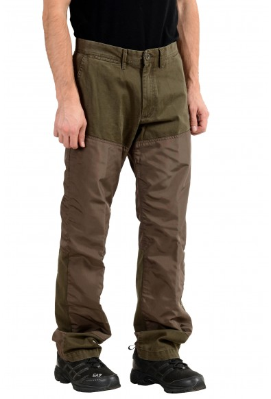 Moncler Men's Olive Green Casual Pants: Picture 2
