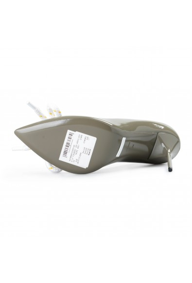Burberry London Women's FINSBURY Gray Patent Leather Pumps Shoes: Picture 2