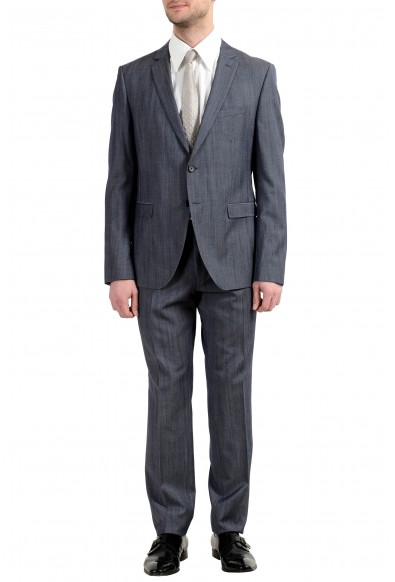 "Hugo Boss ""Reymond/Wenten"" Men's 100% Wool Two Button Suit"