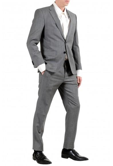 """Hugo Boss """"Huge6/Genius"""" Men's 100% Wool Slim Gray Two Button Suit: Picture 2"""