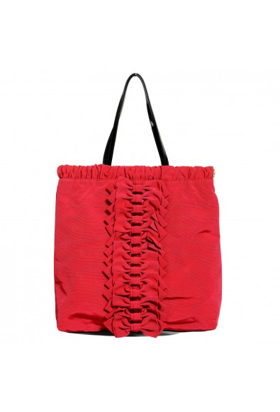Red Valentino Women's True Red Bows Decorated Tote Shoulder Bag