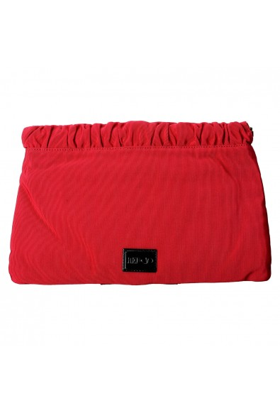 Red Valentino Women's True Red Canvas Bows Decorated Clutch Bag: Picture 2