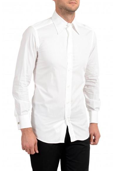Dolce&Gabbana Men's White Long Sleeve Dress Shirt