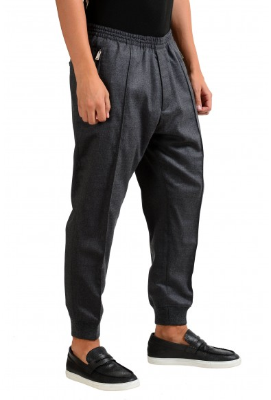 Dsquared2 Men's Gray Wool Stretch Casual Pants : Picture 2