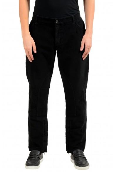 Dolce & Gabbana Men's Black Casual Pants