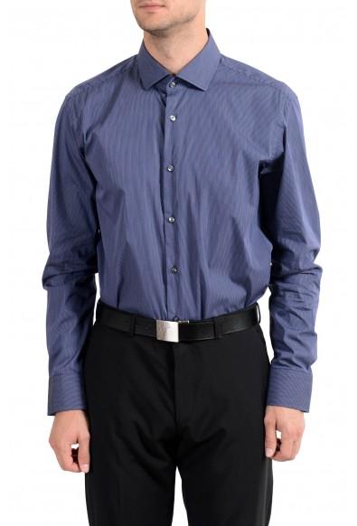 "Hugo Boss ""Gordon"" Men's Regular Fit Stretch Striped Long Sleeve Dress Shirt"