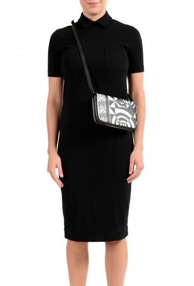 Versace Women's Saffiano Leather Shoulder Clutch Handbag Bag Wallet: Picture 2