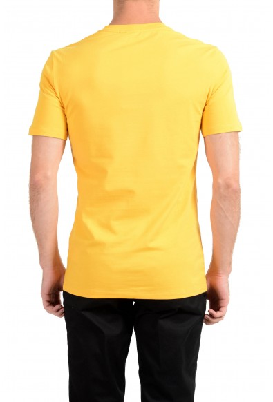 Versace Collection Men's Yellow Graphic Crewneck T-Shirt: Picture 2